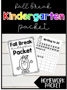 Fall Break Practice Packet