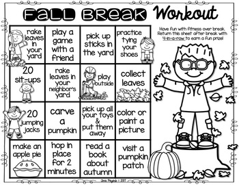 Fall Break Workout: Encouraging Physical Activity over Fall Break