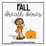 Fall Breath Box Fluency Practice