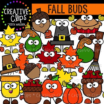 Fall Buds: Autumn Clipart {Creative Clips Clipart}