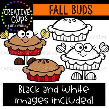 Fall Buds: Autumn Clipart {Creative Clips Clipart}