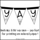 Fall Banner Letter Pennants {Build Your Own}