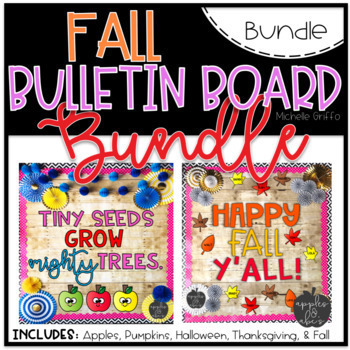 Fall Bulletin Board Bundle By Michelle Griffo From Apples And Abcs