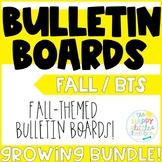 Fall-themed Bulletin Board Sets! Growing Bundle!