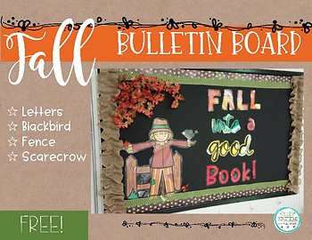 Fall Bulletin Board-Free!