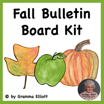 Fall Bulletin Board Freebie