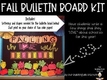 Fall Bulletin Board Kit