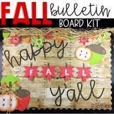 Fall Bulletin Board Kit - 5 Senses Writing Activity