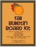 Fall Bulletin Board Kit for Teachers