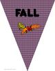 Fall Bulletin Board Pennant