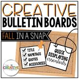 Fall Bulletin Board {Pumpkins}