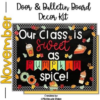 Fall Door Decor Worksheets Teaching Resources Tpt