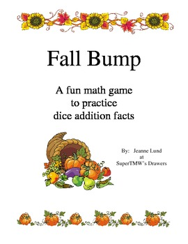 Fall Bump Addition Games