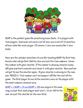 Fall Bump and Beyond Math Games