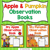 Apple & Pumpkin Observation Books