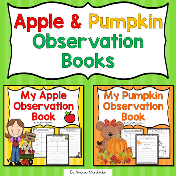 Apple & Pumpkin Observation Books