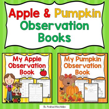 Fall Bundle: Apple & Pumpkin Observation Books