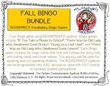 Fall Bundle - BOARDMAKER Bingo Games