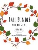 Fall Bundle - I Am Thankful - Yoga, Mindfulness, Meditation, Art