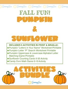 Fall Bundle Letters & Numbers