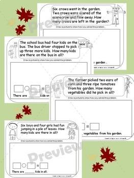 Fall Bundle Pack Literacy & Math