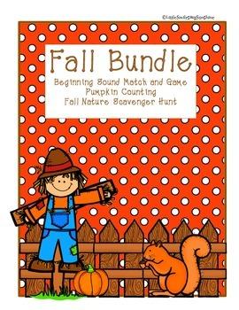 Fall Bundle - Print & Go activities