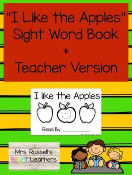 Fall Bundle Sight Word Emergent Readers