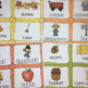 Fall Bundle- Write the Room and  Word Work Printables