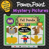 Fall Bundle Watch, Think, Color Games - EXPANDING BUNDLE Mystery Pictures