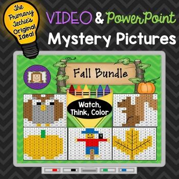 Fall Bundle Watch, Think, Color Games - EXPANDING BUNDLE M
