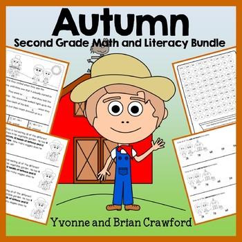 Fall Bundle for 2nd Grade Endless