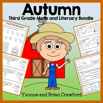 Fall Bundle for 3rd Grade Endless