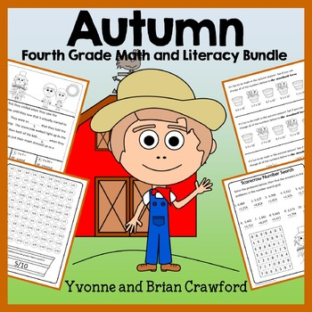 Fall Bundle for 4th Grade Endless