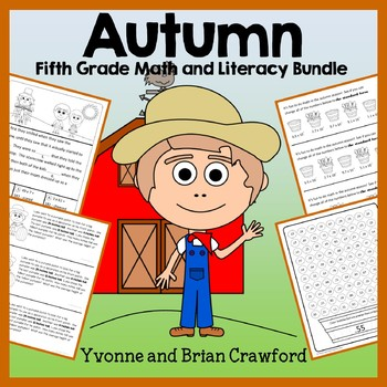 Fall Bundle for 5th Grade Endless