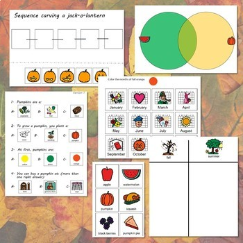 Fall Bundle for Special Education