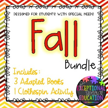 Fall Bundle for Students with Special Needs