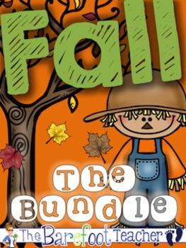 Fall Math & Language Arts Bundle of Activities