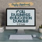 Business Education Activity Bundle
