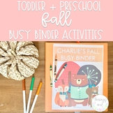 Fall Busy Binder | Toddler and Preschool Learning Activities