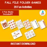 Fall Busy Book, Autumn preschool worksheets, Fall busy boo