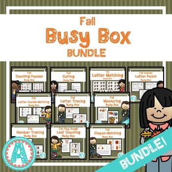 Fall Busy Boxes **BUNDLE**