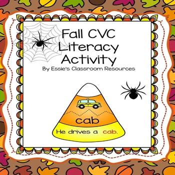 Fall CVC Literacy Activity