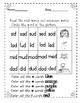 Fall CVC  Reading Fluency Activities RTI (dyslexia)