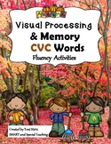 Fall CVC  Reading Fluency Activities ( Dyslexia/RTI)