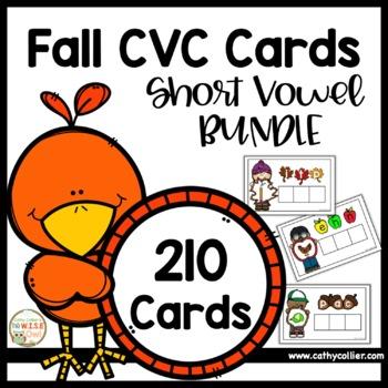 Fall CVC:  Short Vowel Bundle