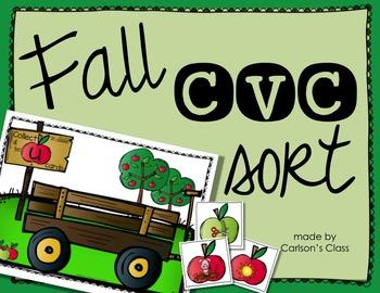 Fall CVC Sort