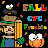 Fall CVC Sound Boxes FREEBIE
