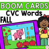 Fall CVC Words Digital Game Boom Cards™