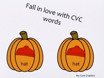 Fall CVC matching words