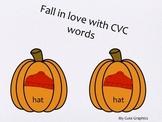 Fall CVC matching words
